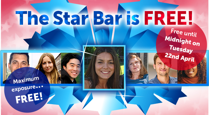 Free For 8 days! Get On The Star Bar Now!